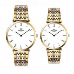 Đồng hồ cặp đôi SRWATCH SR8702.1202 trắng