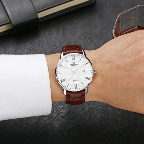 Đồng hồ nam SRWATCH SG1054.4102TE trắng-3