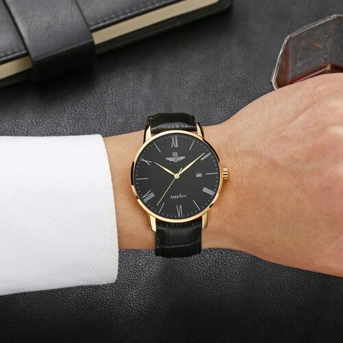 Đồng hồ nam SRWATCH SG1054.4601TE đen-3