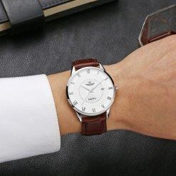 Đồng hồ nam SRWATCH SG1057.4102TE trắng-