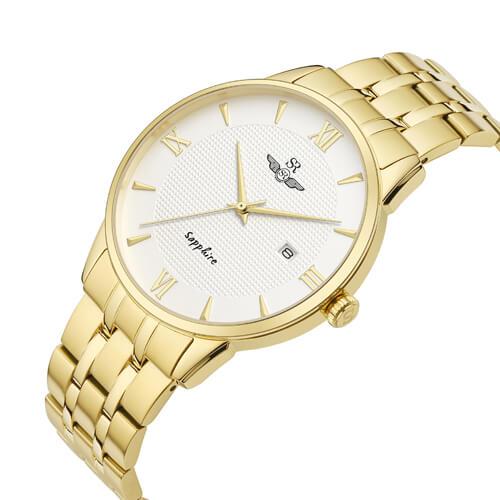 Đồng hồ nam SRWATCH SG1071.1402TE trắng-1