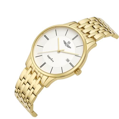 Đồng hồ nam SRWATCH SG1073.1402TE trắng-1