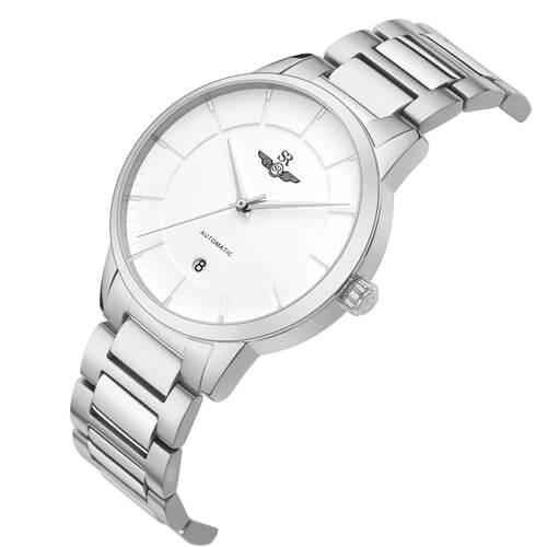 Đồng hồ nam SRWATCH SG8881.1102AT trắng-1
