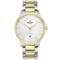 Đồng hồ nam SRWATCH SG8881.1202AT trắng
