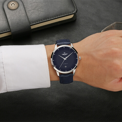 Đồng hồ nam SRWATCH SG8882.4103AT xanh-3