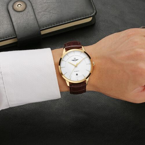 Đồng hồ nam SRWATCH SG8882.4602AT trắng-3