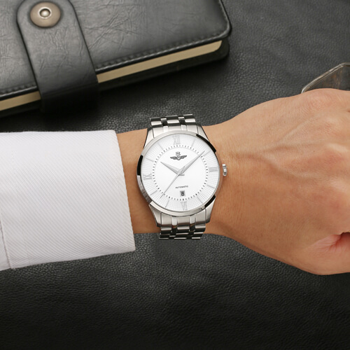 Đồng hồ nam SRWATCH SG8883.1102AT trắng-3