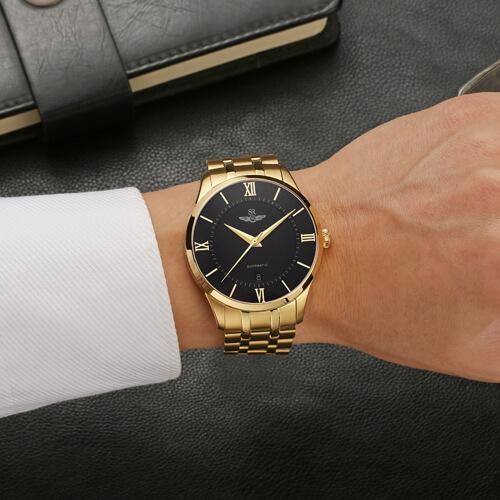 Đồng hồ nam SRWATCH SG8883.1401AT đen-3