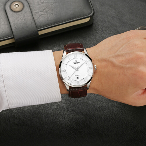 Đồng hồ nam SRWATCH SG8884.4102AT trắng-3