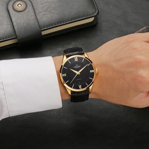 Đồng hồ nam SRWATCH SG8884.4601AT đen-3