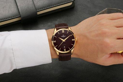 Đồng hồ nam SRWATCH SG8884.6103AT nâu-3