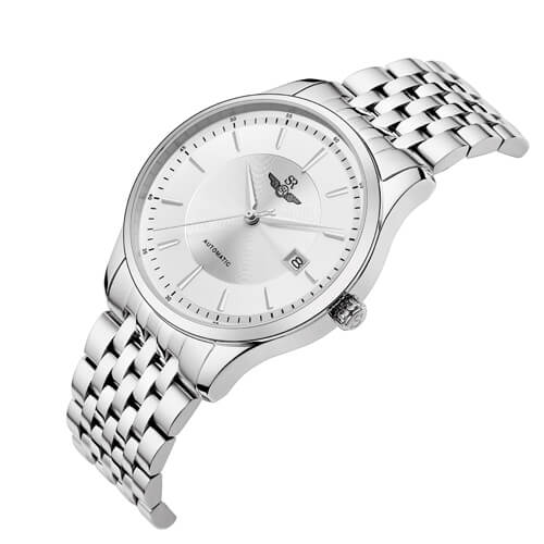 Đồng hồ nam SRWATCH SG8885.1102AT trắng-1