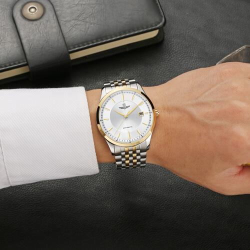 Đồng hồ nam SRWATCH SG8885.1202AT trắng-3