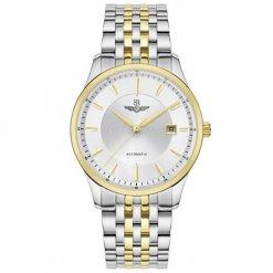 Đồng hồ nam SRWATCH SG8885.1202AT trắng