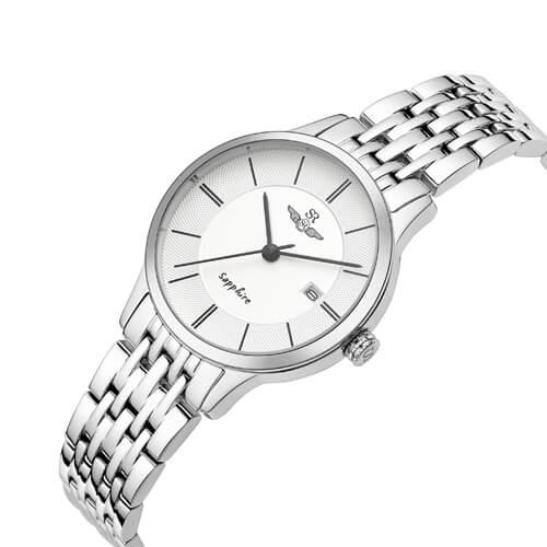 Đồng hồ nữ SRWATCH SL1073.1102TE trắng-1