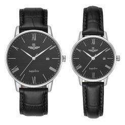 Đồng hồ cặp đôi SRWATCH SR1054.4101TE đen