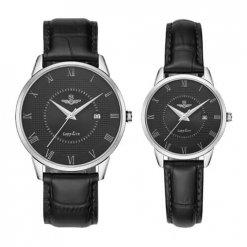 Đồng hồ cặp đôi SRWATCH SR1057.4101TE đen