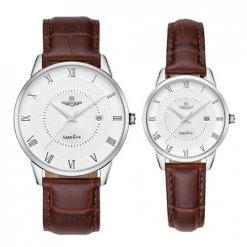 Đồng hồ cặp đôi SRWATCH SR1057.4102TE trắng