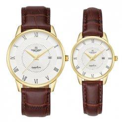Đồng hồ cặp đôi SRWATCH SR1057.4602TE trắng