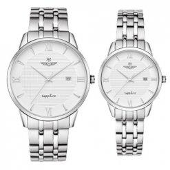 Đồng hồ cặp đôi SRWATCH SR1071.1102TE trắng