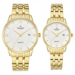 Đồng hồ cặp đôi SRWATCH SR1071.1402TE trắng