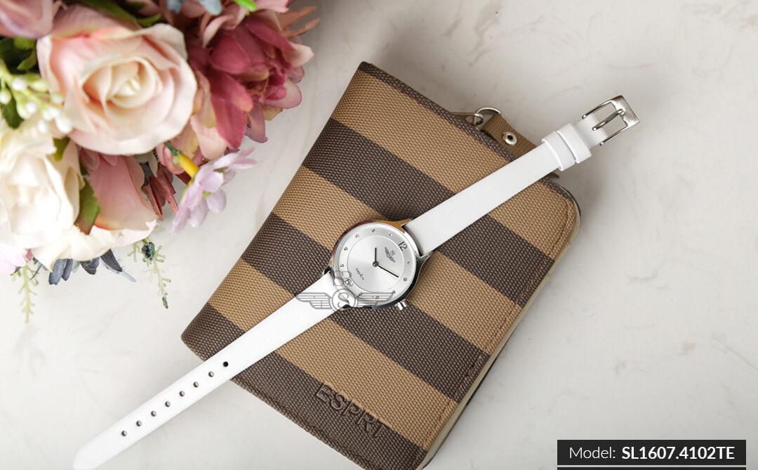 đồng hồ dây da nữ đẹp