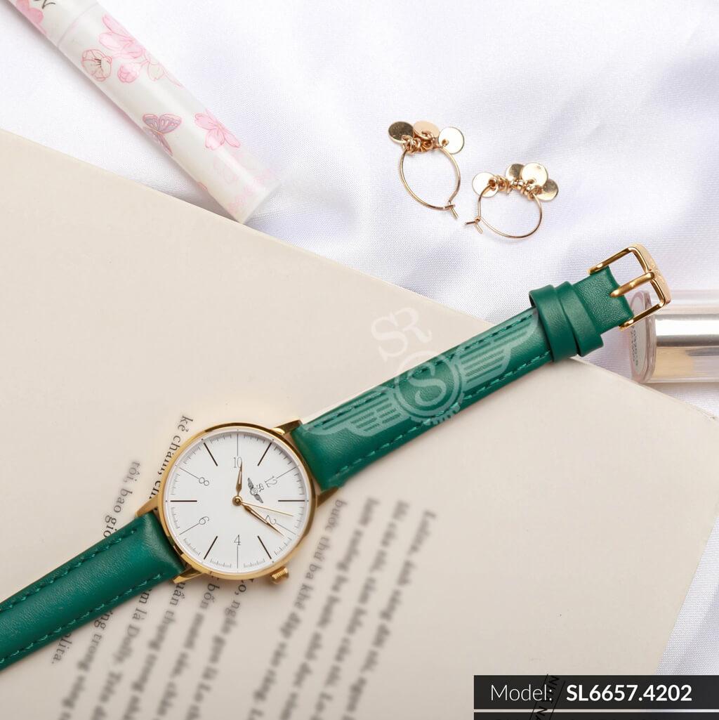 đồng hồ dây da chính hãng