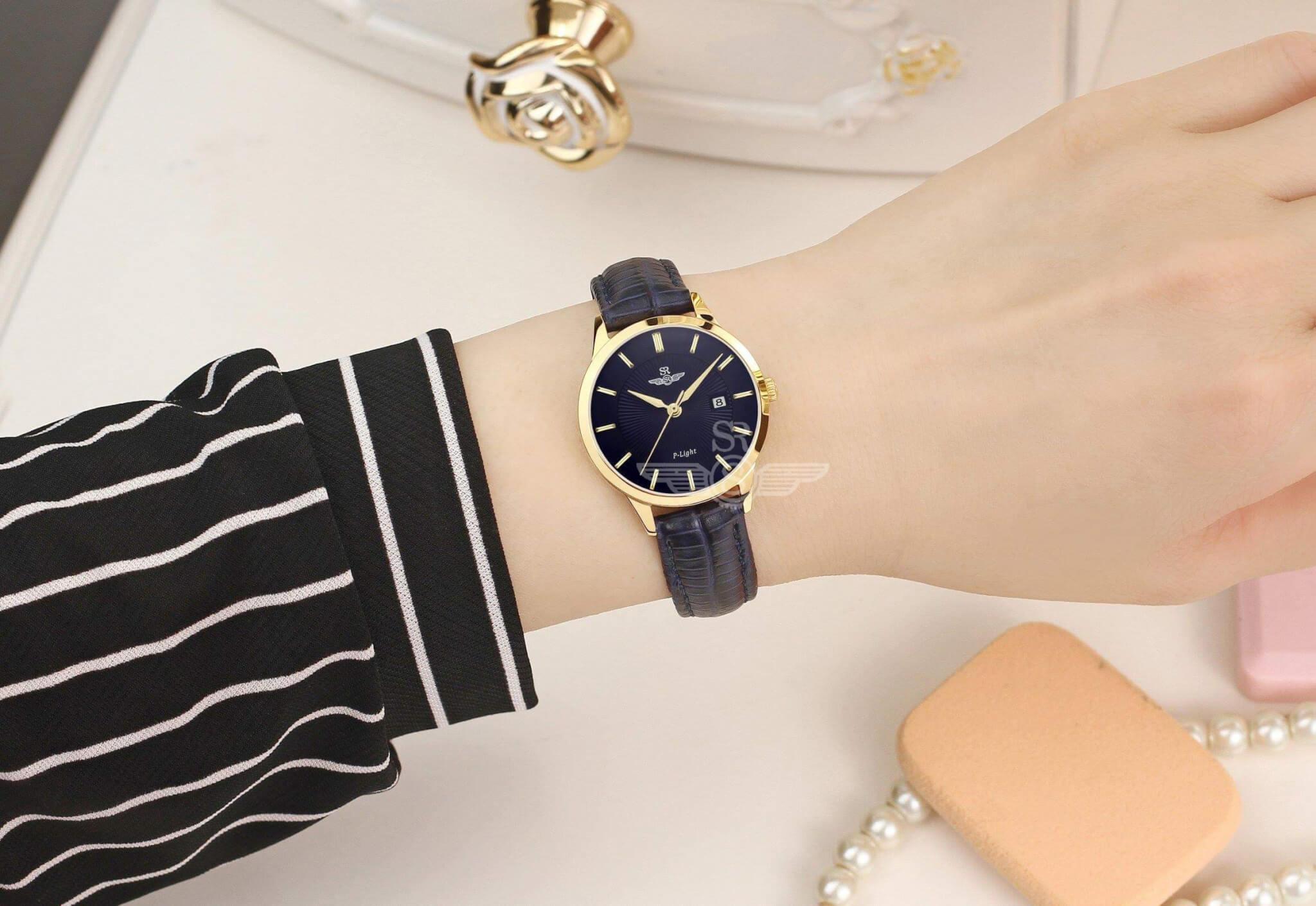 đồng hồ dây da nữ giá tốt