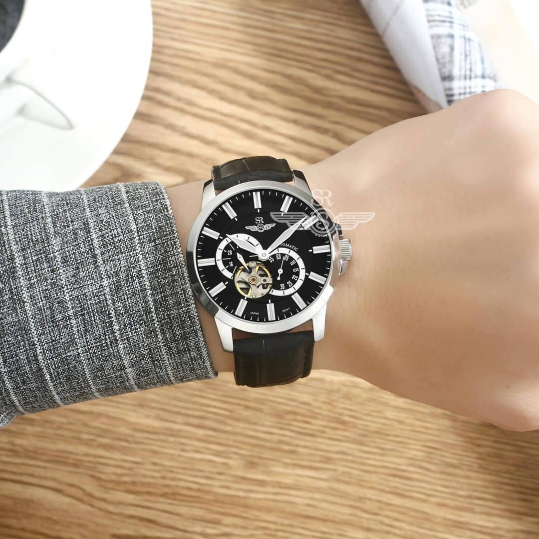 đồng hồ dây da đẹp cho nam