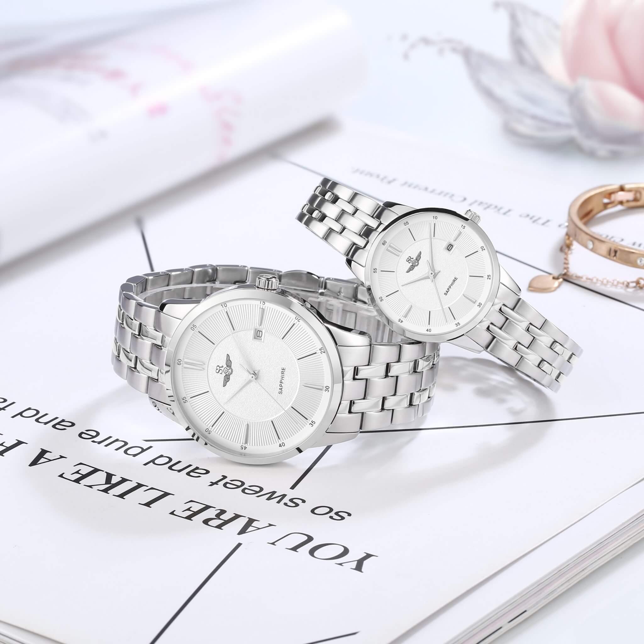 đồng hồ sapphire nữ chính hãng giá tốt